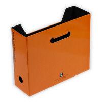 エトランジェ・ディ・コスタリカ A4ファイルボックス[SOLID]オレンジ SLD2ー51ー05 10個 (直送品)