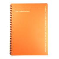キョクトウ パペルールブリューム Wリングノート オレンジ B5 PT222OR 5冊 (直送品)