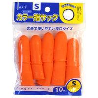 デビカ カラー指サックS 10個入り 061637 4個 (直送品)