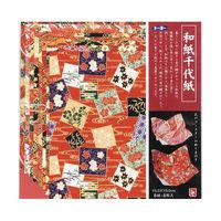 トーヨー 和紙千代紙 15cm 8枚入 012003 3冊 (直送品)
