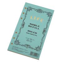 ライフ ノーブル リフィル 横罫 バイブルサイズ R102 2冊 (直送品)
