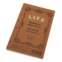 ライフ ノーブル リフィル 無地 ミニサイズ R201 3冊 (直送品)