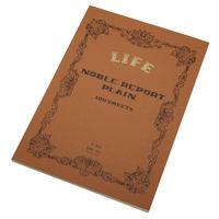 ライフ ノーブル レポート 無地 A4 R61 2冊 (直送品)