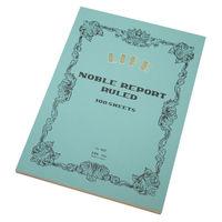 ライフ ノーブル レポート 横罫 A4 R62 2冊 (直送品)