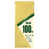 マルアイ 長4 筋入 お徳用封筒 トク-105H 1セット(400枚:100枚入り×4パック) 郵便枠印刷なし (直送品)