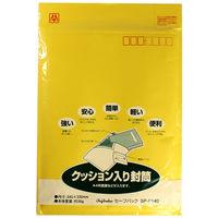 マルアイ セーフパック NO.40T クッション封筒 SP-P140 5パック ワンタッチテープ付 (直送品)