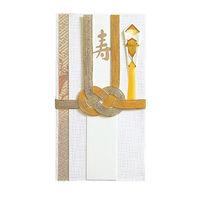マルアイ 金封 絹帯 10本 キー495 5パック (直送品)