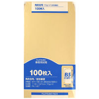 マルアイ クラフト 封筒 角8 70G PK-187 1セット(200枚:100枚入り×2パック) 郵便枠印刷なし (直送品)