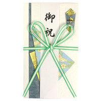 マルアイ 金封 花結び 5本 ブルー キー539 5冊 (直送品)