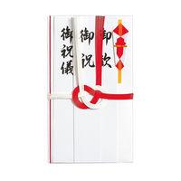 マルアイ 祝金封 赤白7本結切 短冊 キー114 10パック (直送品)
