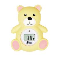シンワ 風呂用デジタル温度計 B クマ 73098 1セット(5個)