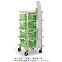 河淳 コンテナカート CZ6040 5P WAH946 (直送品)