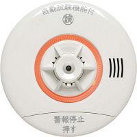 NITTAN(ニッタン) 住宅用火災警報器 ねつタンちゃん10(熱式10年) 移報なし・引きひも付 ホワイト 1個 CRG-1D-X (直送品)