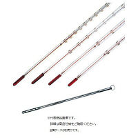 日本計量器工業 赤液棒状温度計 JC-2088 1箱(12本入) 10-2270-09(直送品)