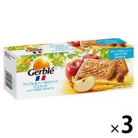 Gerble(ジェルブレ) アップル&ヘーゼルナッツビスケット 1セット((4枚×4袋入)×3箱) 大塚製薬 栄養補助食品