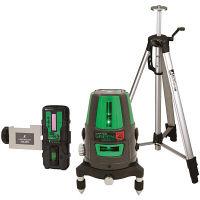 シンワ測定 レーザーロボ グリーン Neo41BRIGHT 受光器・三脚セット 78291 (直送品)