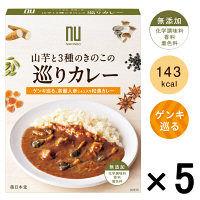 薬日本堂(ニホンドウ) 山芋と3種のきのこの巡りカレー 1セット(5食)
