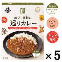 薬日本堂(ニホンドウ) 黒豆と蓮根の巡りカレー 1セット(5食)