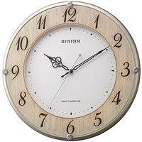 リズム時計(RHYTHM) ライブリーナチュレ [電波 掛け時計] 8MY506SR23 1個 (直送品)
