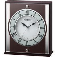シチズン 連続秒針クオーツ置き時計