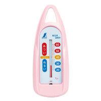 風呂用温度計 B 舟型 ピンク 72760 1セット(20個) シンワ測定 (直送品)