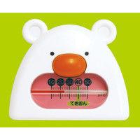 B-9 くまさん ホワイト&ピンク 73052 1セット(10個) シンワ測定