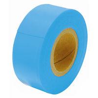 マーキングテープ 30mm×50m ブルー 74125 1セット(10個) シンワ測定 (直送品)