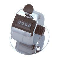 数取器 A 金属製 台付型 75078 1セット(10個) シンワ測定 (直送品)