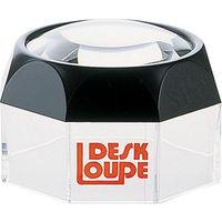 ルーペ M-1 デスク型 60mm 3.5倍 75529 1セット(5個) シンワ測定 (直送品)
