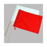 旗 工事用 ナイロン製 2本組 小 76909 1セット(10個) シンワ測定 (直送品)