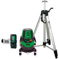 レーザーロボグリーンNeo21AR BRIGHT 受光器三脚セット 78287 シンワ測定 (直送品)