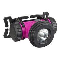 乾電池式LEDヘッドライトM075D マゼンダ 防災推奨 LE-M075D-M 1セット(6個) TJMデザイン (直送品)