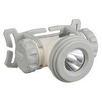 乾電池式LEDヘッドライトM075D ホワイト 防災推奨 LE-M075D-W 1セット(6個) TJMデザイン (直送品)