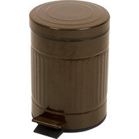 東谷 ゴミ箱 キューボ 5L LFS-071BR ブラウン 1台 (直送品)