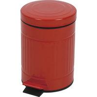 東谷 ゴミ箱 キューボ LFS-071RD レッド 1台 (直送品)