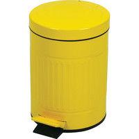 東谷 ゴミ箱 キューボ LFS-071YE イエロー 1台 (直送品)
