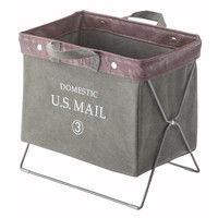 東谷 手荷物収納 フォールディングバスケットバッグ USメール MIP-89GR グリーン 1台 (直送品)