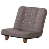 東谷 脚付き座椅子 スマート RKC-930BR ブラウン 1台 (直送品)