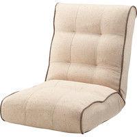 東谷 座椅子 シュシュ RKC-932BE ベージュ 1台 (直送品)