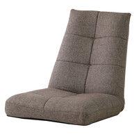 東谷 座椅子 パーティ バケットリクライナー THC-108BR ブラウン 1台 (直送品)