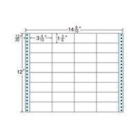 タックフォームラベル(剥離紙ブルー) NT14PB 1箱(500折) 東洋印刷 (直送品)