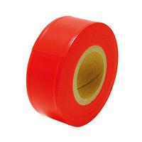 マーキングテープ 30mm×50m 蛍光オレンジ 73800 1セット(10個) シンワ測定 (直送品)