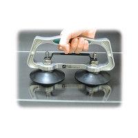 ハンド吸着盤 ダブル B ワンタッチ 74484 1セット(2個) シンワ測定 (直送品)