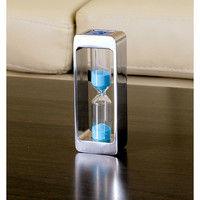 砂時計 メタリック 3分計 70304 1セット(10個) シンワ測定 (直送品)