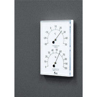温湿度計 W-1 角型 ホワイト 70510 1セット(5個) シンワ測定 (直送品)