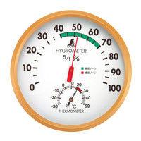 温湿度計 G 丸型 15cm 72605 1セット(5個) シンワ測定 (直送品)