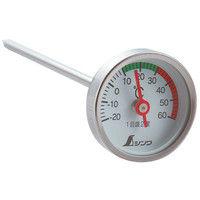 温度計 V-2 丸T字型 -20〜60℃ φ3.5×13cm 育苗 72610 1セット(10個) シンワ測定 (直送品)