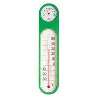 温湿度計 PCオーバル M-2 グリーン スリーブパック 72615 1セット(10個) シンワ測定 (直送品)