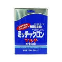 染めQテクノロジィ 染めQ ミッチャクロンマルチ クリヤー 1セット/4缶入(1缶あたり:内容量3.7L) (直送品)