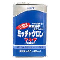 染めQテクノロジィ 染めQ ミッチャクロンマルチ クリヤー 1セット/3缶入(1缶あたり:内容量1L) (直送品)